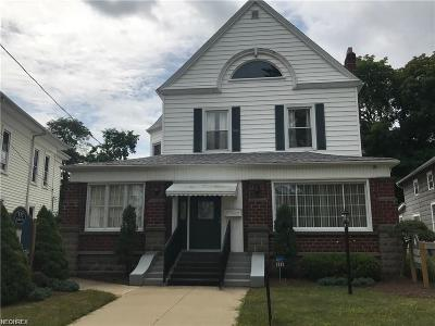 Conneaut Single Family Home For Sale: 333 Liberty St