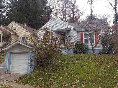 Muskingum County, Perry County, Guernsey County, Morgan County Single Family Home For Sale: 2101 Norwood Blvd