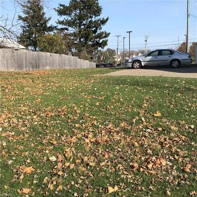 Lorain County Residential Lots & Land For Sale: Washington Ave