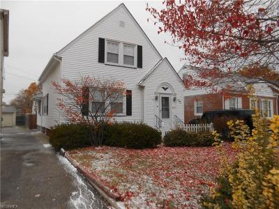 Euclid Single Family Home For Sale: 584 East 266th St