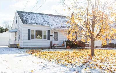 Hubbard Single Family Home For Sale: 95 Westview Ave