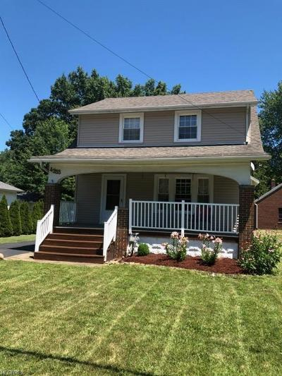 Lorain County Single Family Home For Sale: 4333 Broadway Ave