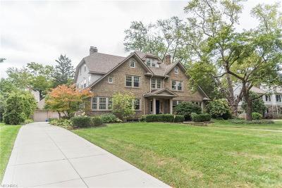 Cuyahoga County Single Family Home For Sale: 2961 Broxton Rd