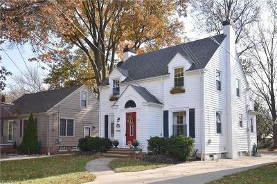 Cleveland OH Single Family Home For Sale: $169,900