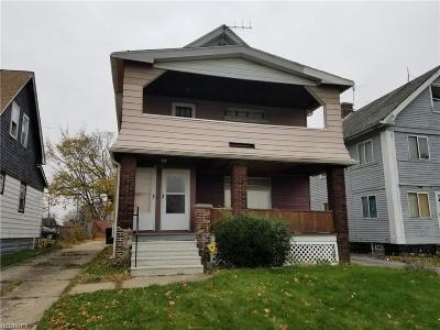Cuyahoga County Multi Family Home For Sale: 11914 Angelus Ave