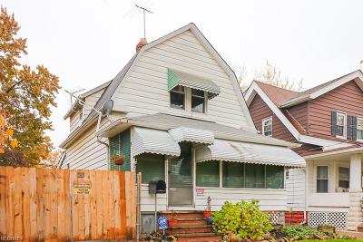 Cleveland Single Family Home For Sale: 2095 West 103