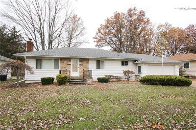 Lorain County Single Family Home For Sale: 3500 Oxford Dr