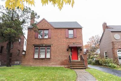 Cuyahoga County Single Family Home For Sale: 3498 Berkeley Rd