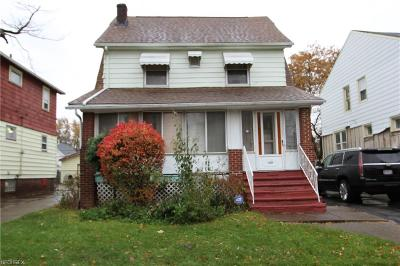 Cuyahoga County Single Family Home For Sale: 14606 Glendale Ave
