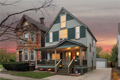 Cuyahoga County Single Family Home For Sale: 1836 West 58th St