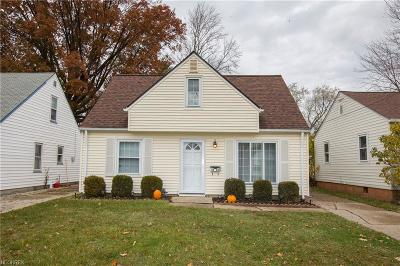 Single Family Home For Sale: 18700 Rockland Ave