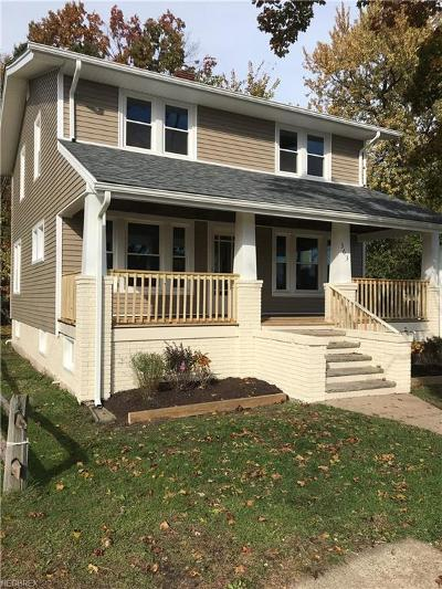 Painesville OH Single Family Home For Sale: $124,900