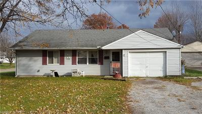 Elyria Single Family Home For Sale: 697 North Abbe Rd