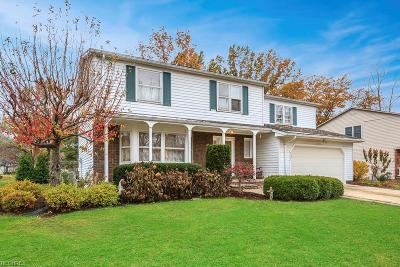 Mentor Single Family Home For Sale: 6362 Candlewood Ct