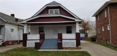 Single Family Home For Sale: 3391 West 127th St