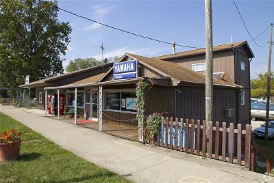 Licking County Commercial For Sale: 5171 North Bank Rd
