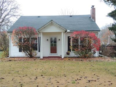 Wadsworth OH Single Family Home For Sale: $199,500