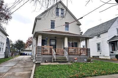 Cleveland Single Family Home For Sale: 4111 Woburn Ave