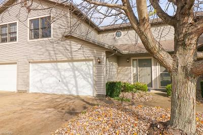 North Ridgeville Condo/Townhouse For Sale: 8527 Spencer Ct