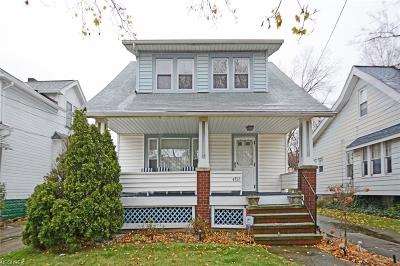 Cleveland Single Family Home For Sale: 4816 Stickney Ave