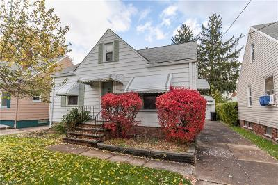 Cleveland Single Family Home For Sale: 3842 Brookside Blvd