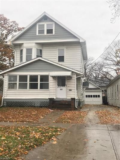Painesville OH Single Family Home For Sale: $55,000