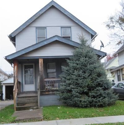 Cleveland Single Family Home For Sale: 3539 East 105th St