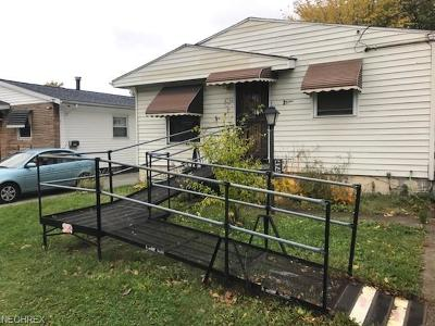 Cleveland Single Family Home For Sale: 4748 East 174th St