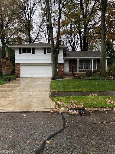North Olmsted Single Family Home For Sale: 3125 West 230th St
