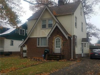Cleveland OH Single Family Home For Sale: $174,999