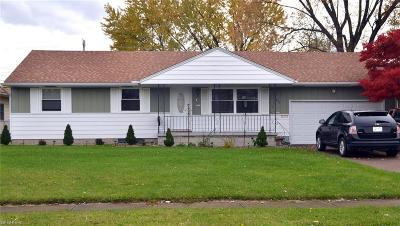 Lorain Single Family Home For Sale: 1821 West 40th St