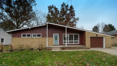 Medina County Single Family Home For Sale: 821 Crestwood Ave