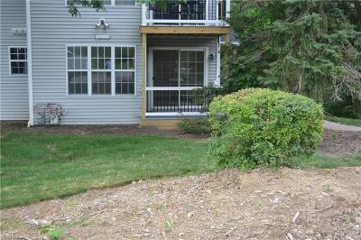 Broadview Heights Condo/Townhouse For Sale: 1606 Stoney Run Trl #1606