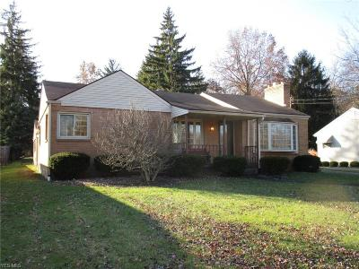 Youngstown Single Family Home For Sale: 4545 Norquest Blvd