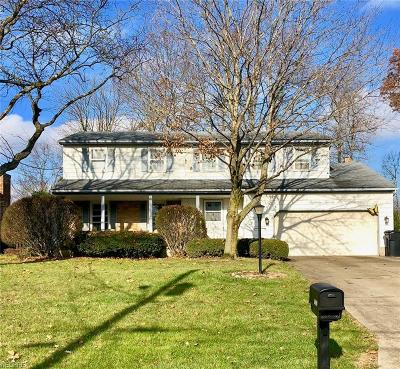 Youngstown Single Family Home Active Under Contract: 1826 Canavan Drive