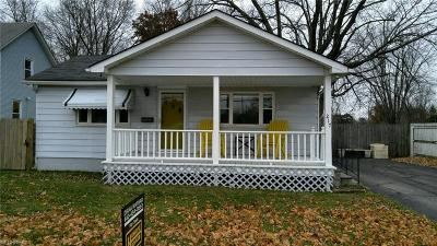 Amherst OH Single Family Home For Sale: $90,000