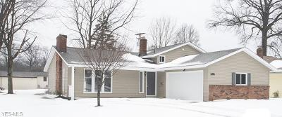 North Olmsted Single Family Home For Sale: 24095 Vincent Dr