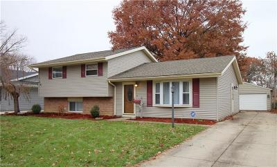 Elyria OH Single Family Home For Sale: $136,500