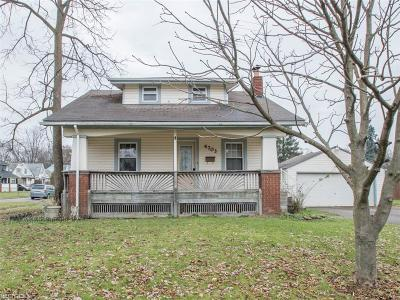 Boardman Single Family Home Active Under Contract: 4703 Southern Boulevard