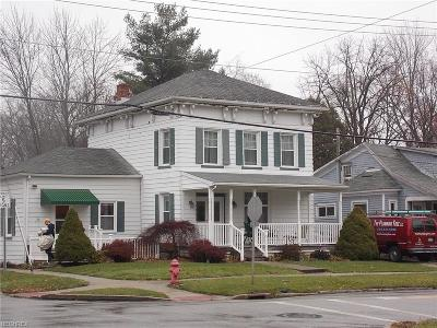 Medina County Single Family Home For Sale: 25 East Main St
