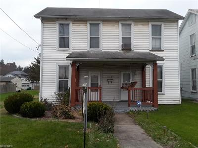 Zanesville Single Family Home For Sale: 2327 Linden Ave