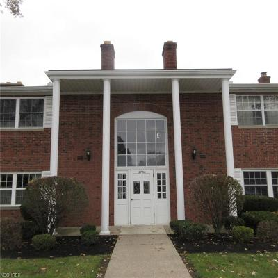 Rocky River Condo/Townhouse For Sale: 2768 Pease Dr #N205