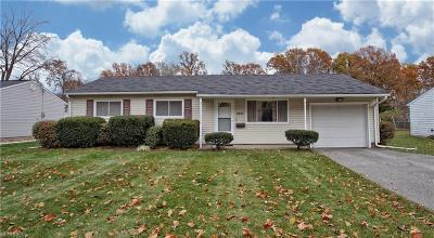 Mentor Single Family Home For Sale