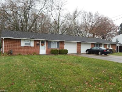 Stark County Multi Family Home For Sale: 4940-4942 15th St Southwest