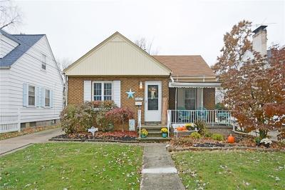 Lorain Single Family Home For Sale: 2957 Cleveland Blvd