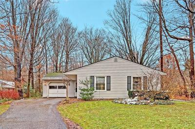 Chagrin Falls Single Family Home For Sale: 17008 Chillicothe Rd
