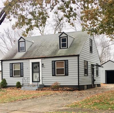 Painesville Single Family Home For Sale: 177 Carroll Ave