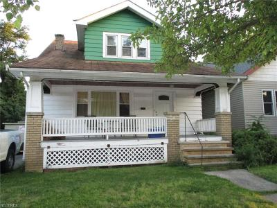 Cleveland OH Single Family Home For Sale: $99,500
