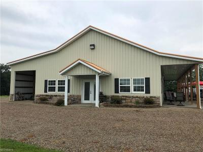 Muskingum County Single Family Home For Sale: 2455 Adamsville Rd