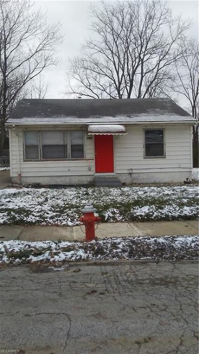 Cleveland Single Family Home For Sale: 4837 East 173rd St